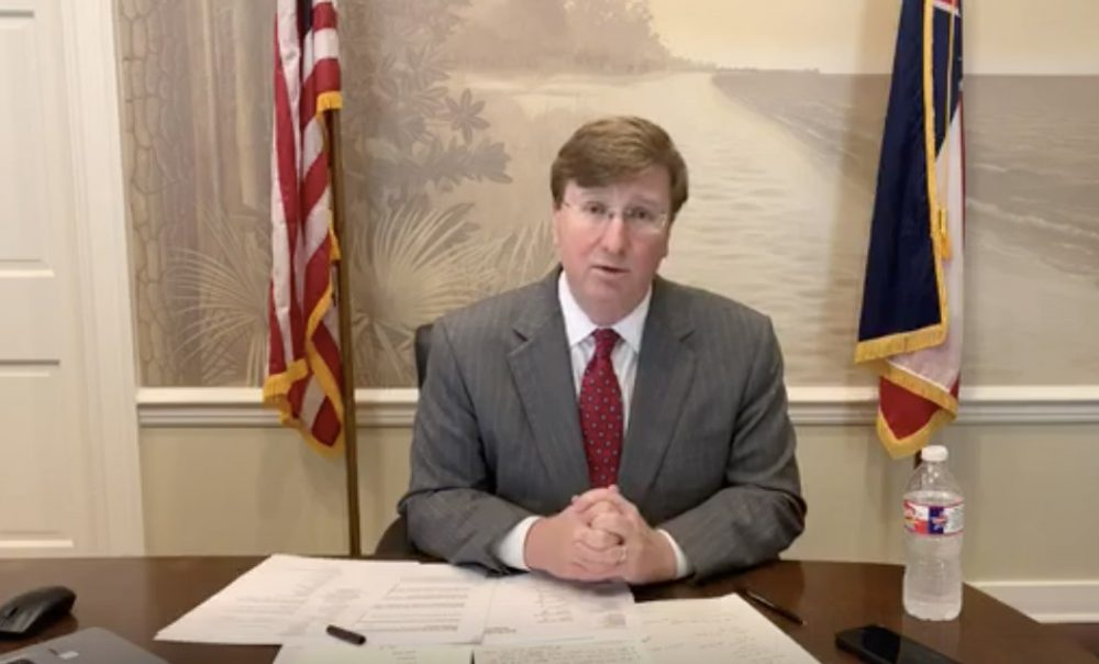 Governor Reeves Facebook Live on increase in COVID-19 cases